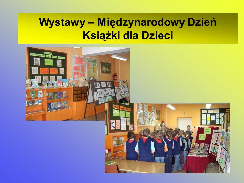 Wystawy – Międzynarodowy Dzień Książki dla Dzieci