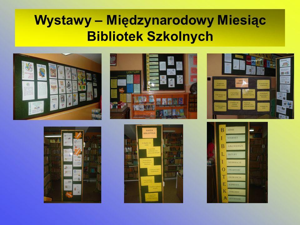 Wystawy – Międzynarodowy Miesiąc Bibliotek Szkolnych