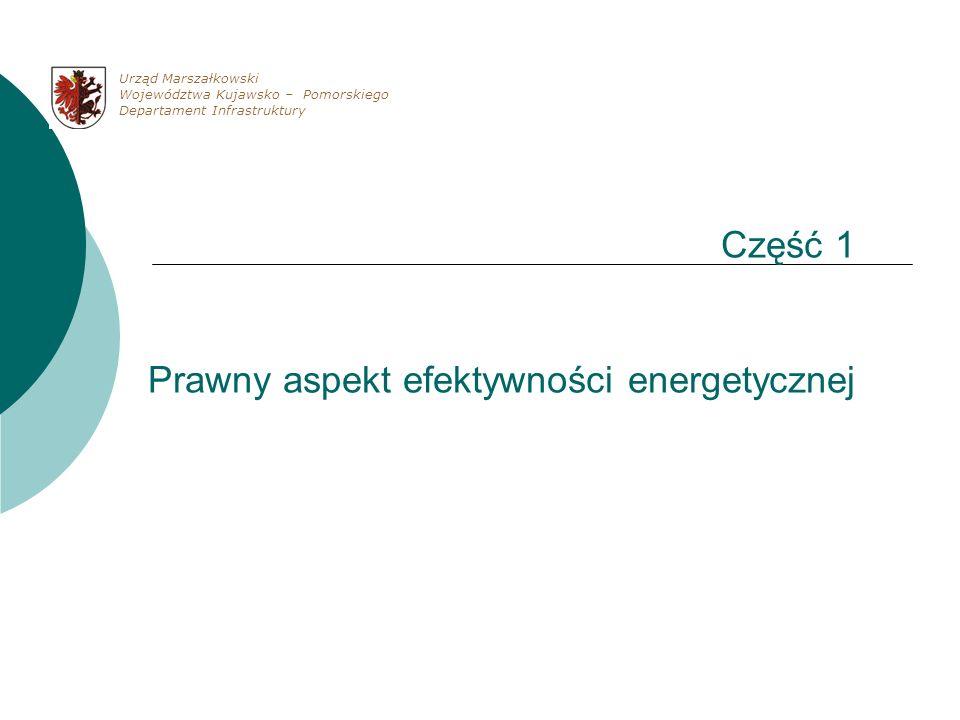 Część 1 Prawny aspekt efektywności energetycznej