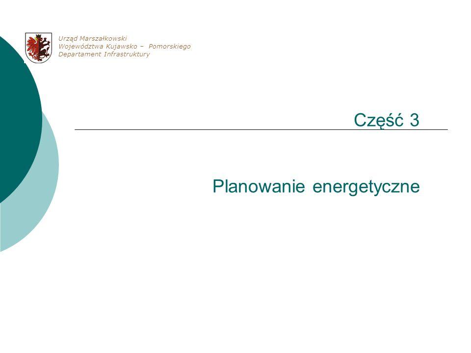 Część 3 Planowanie energetyczne