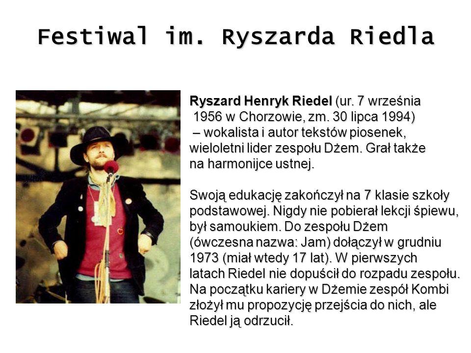 Festiwal im. Ryszarda Riedla