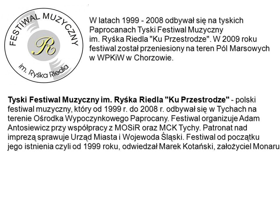 W latach 1999 - 2008 odbywał się na tyskich