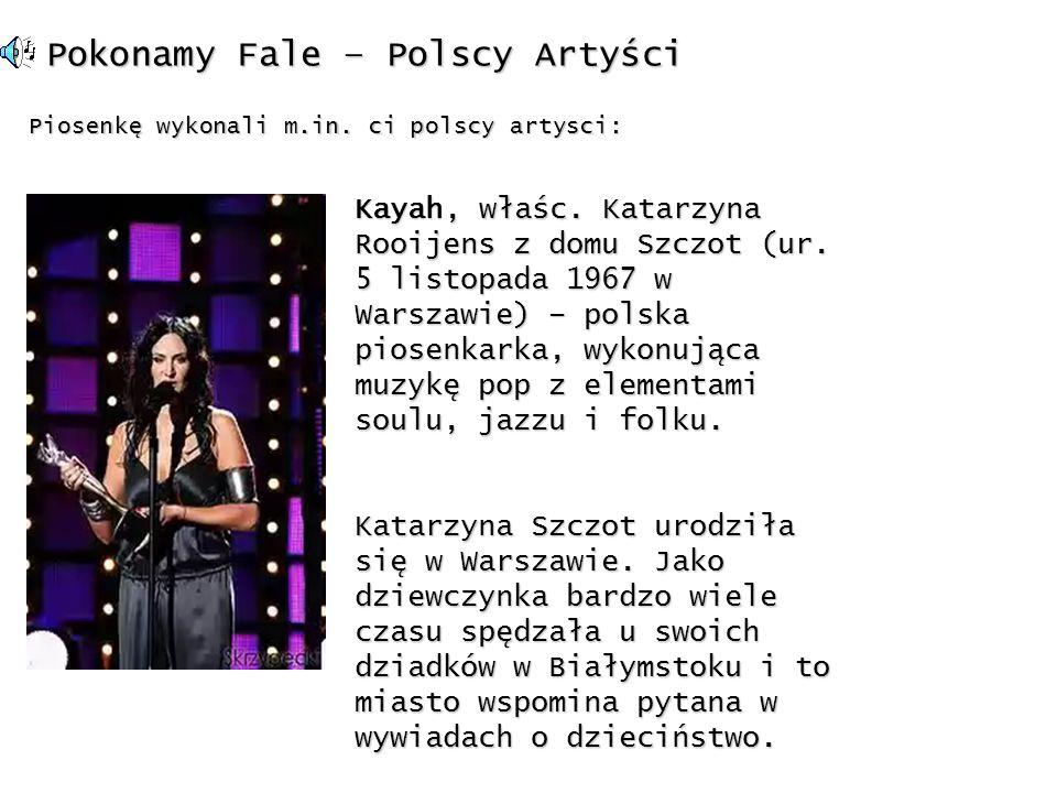 Pokonamy Fale – Polscy Artyści