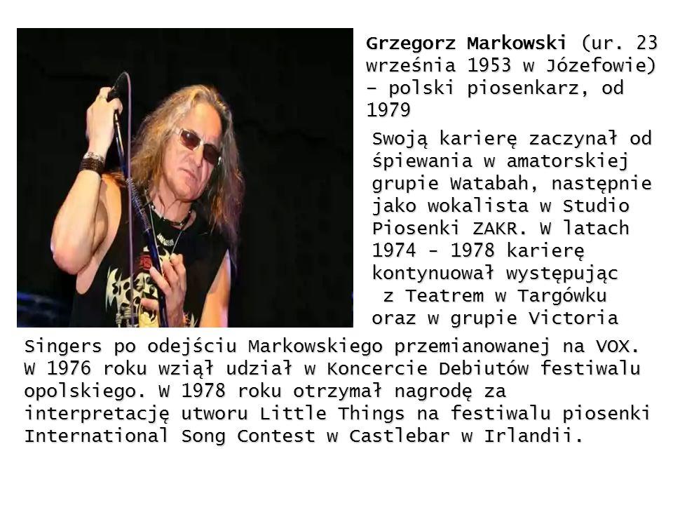 Grzegorz Markowski (ur