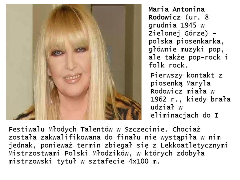 Maria Antonina Rodowicz (ur