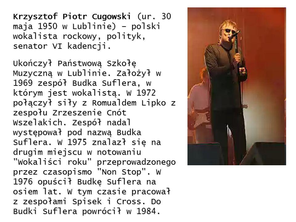 Krzysztof Piotr Cugowski (ur