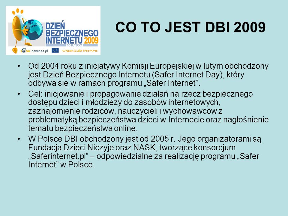 CO TO JEST DBI 2009