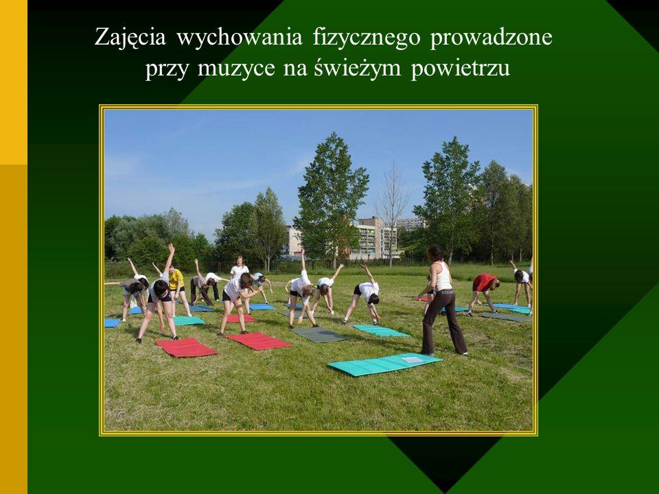 Zajęcia wychowania fizycznego prowadzone