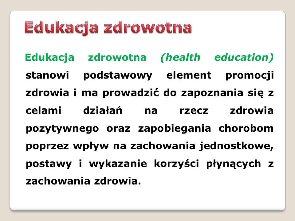 Edukacja zdrowotna