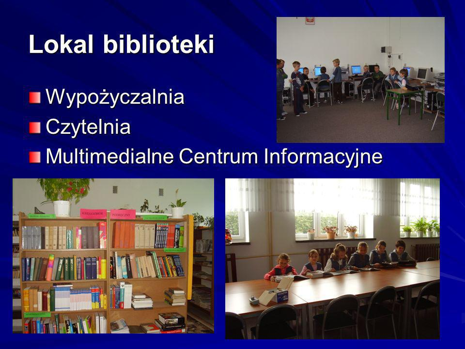 Lokal biblioteki Wypożyczalnia Czytelnia
