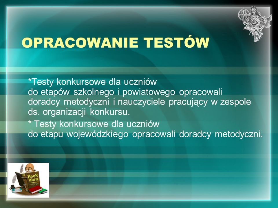 OPRACOWANIE TESTÓW