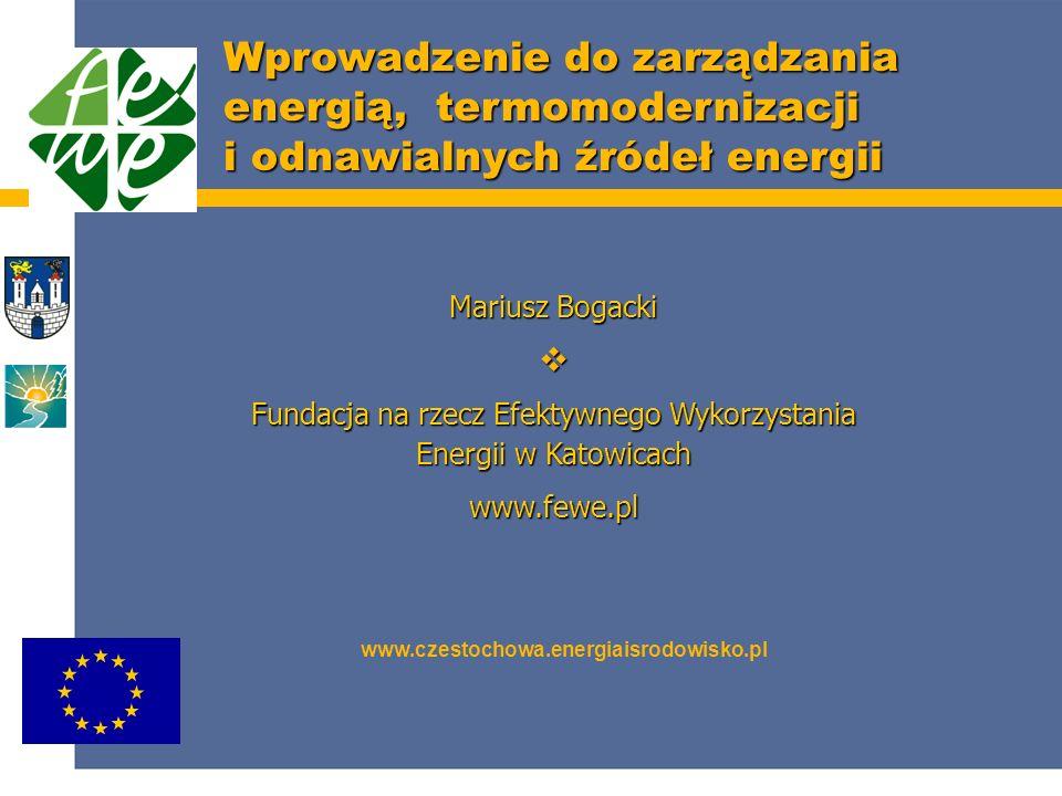 Fundacja na rzecz Efektywnego Wykorzystania Energii w Katowicach