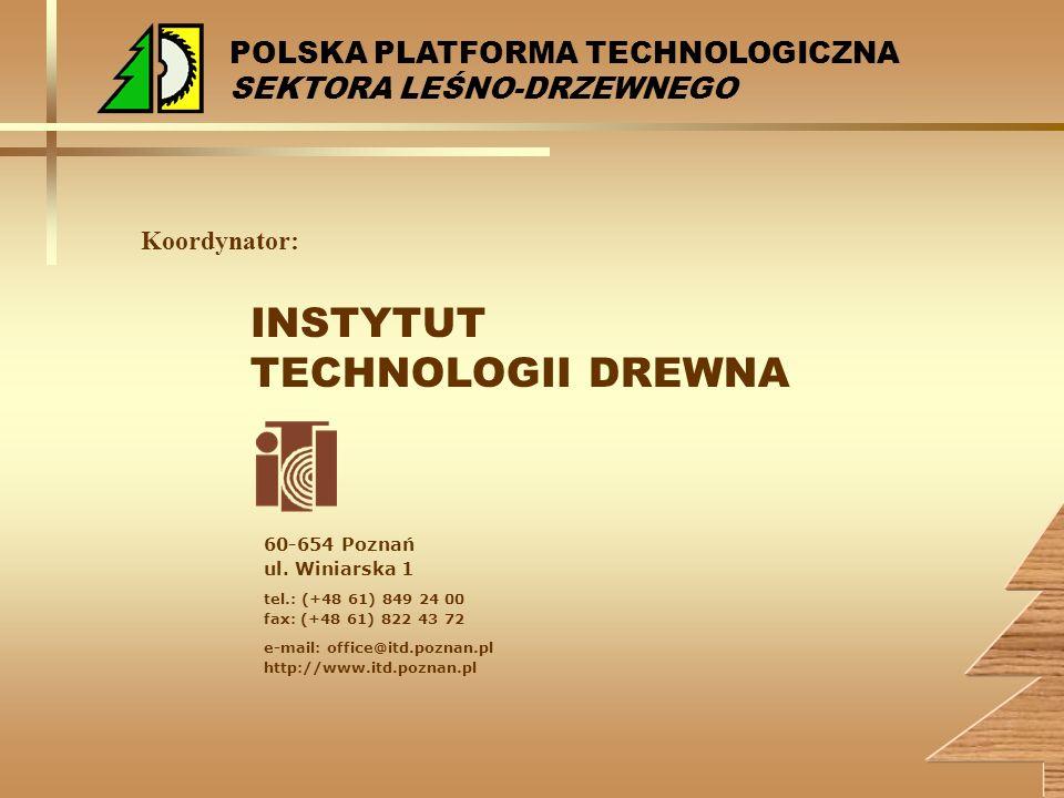 INSTYTUT TECHNOLOGII DREWNA