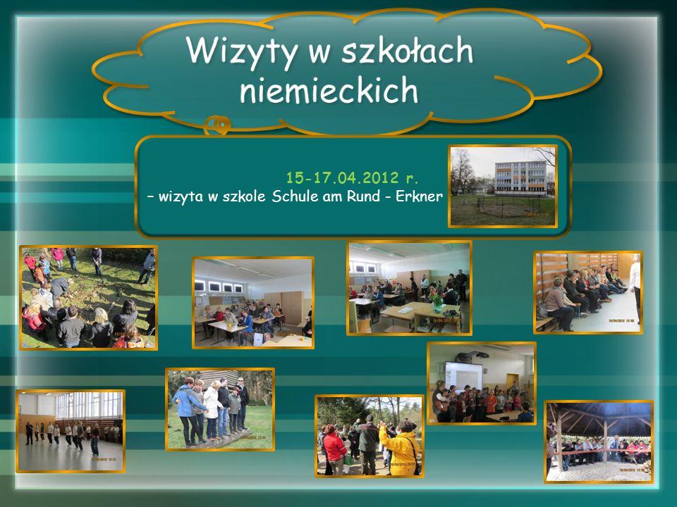 Wizyty w szkołach niemieckich 15-17.04.2012 r.