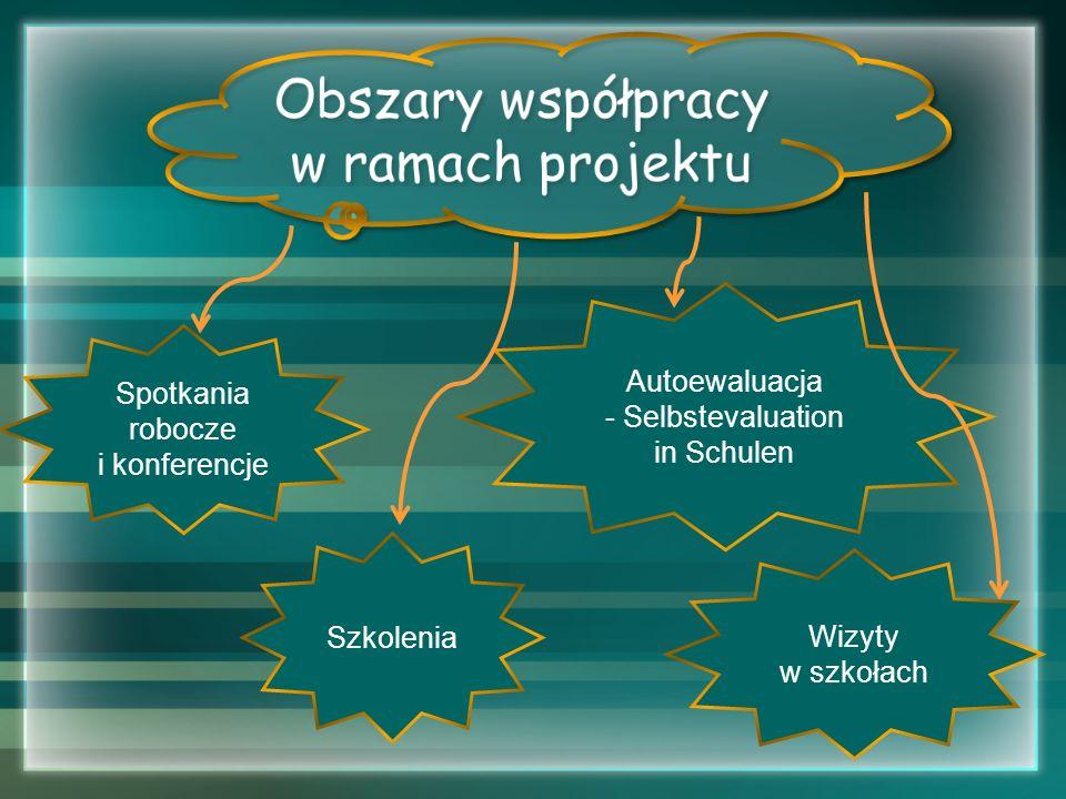 Obszary współpracy w ramach projektu