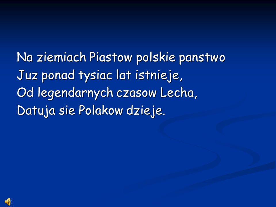 Na ziemiach Piastow polskie panstwo