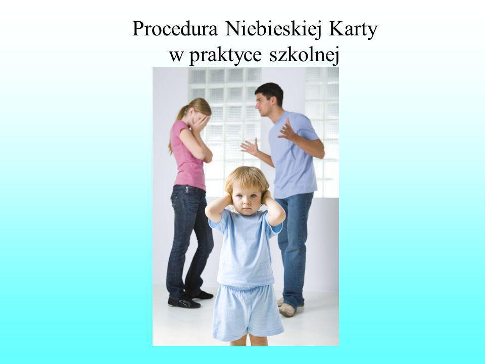 Procedura Niebieskiej Karty w praktyce szkolnej