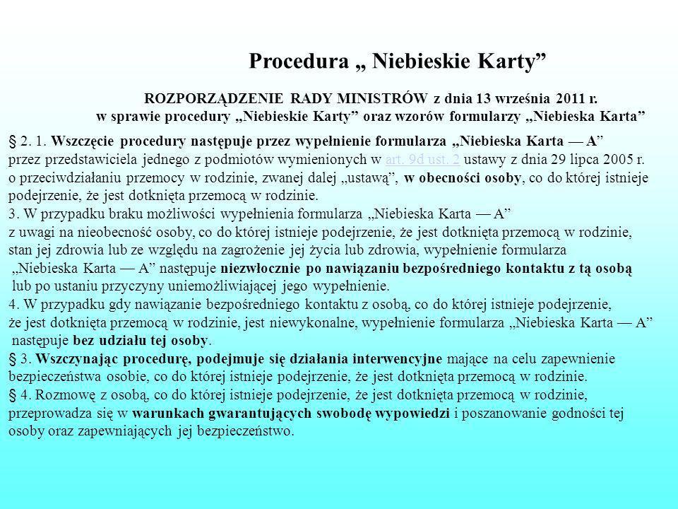 ROZPORZĄDZENIE RADY MINISTRÓW z dnia 13 września 2011 r.