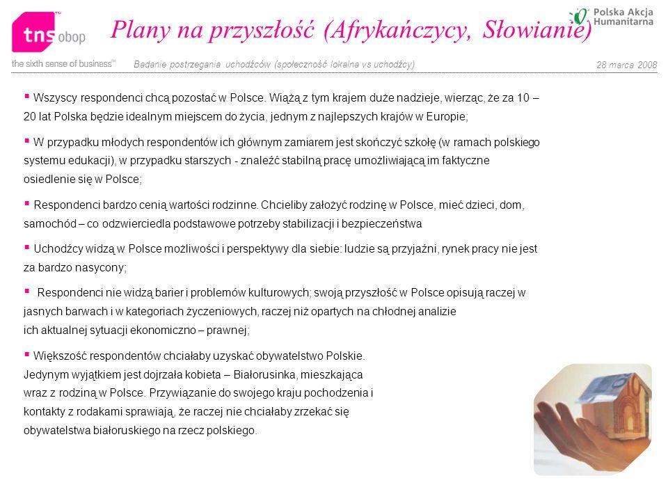 Plany na przyszłość (Afrykańczycy, Słowianie)