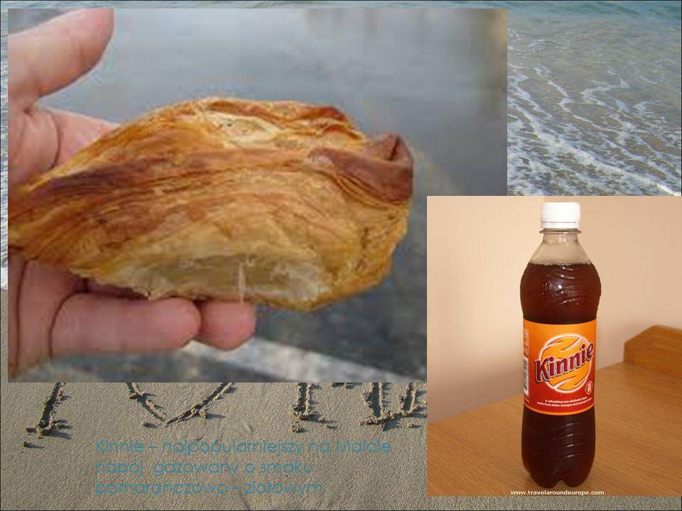 Kinnie – najpopularniejszy na Malcie napój gazowany o smaku pomarańczowo – ziołowym