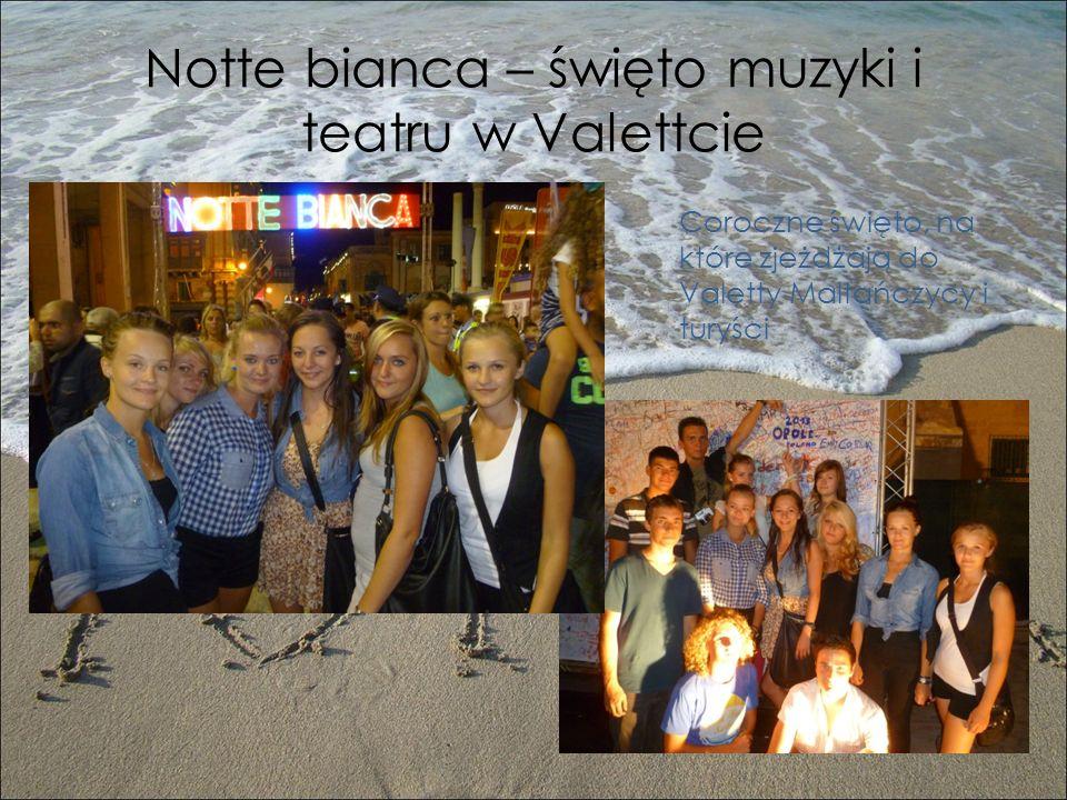 Notte bianca – święto muzyki i teatru w Valettcie