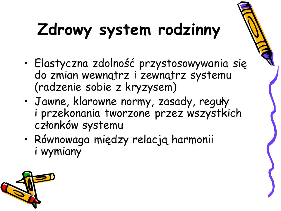 Zdrowy system rodzinny
