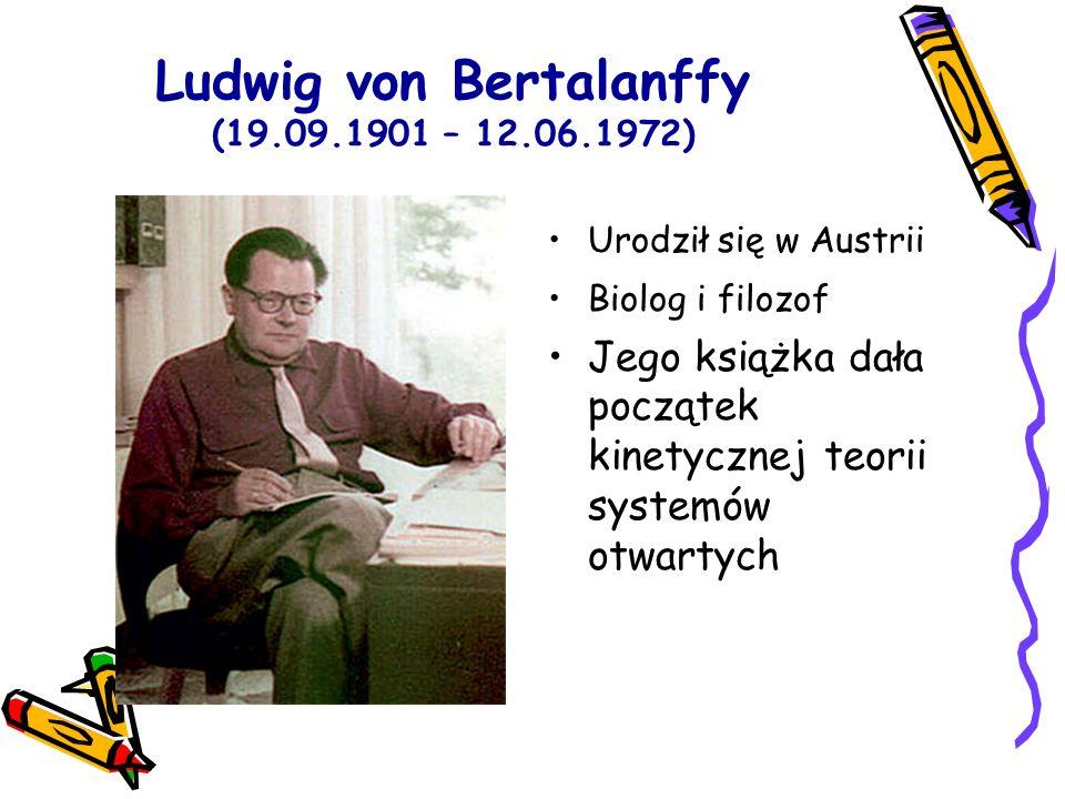 Ludwig von Bertalanffy (19.09.1901 – 12.06.1972)