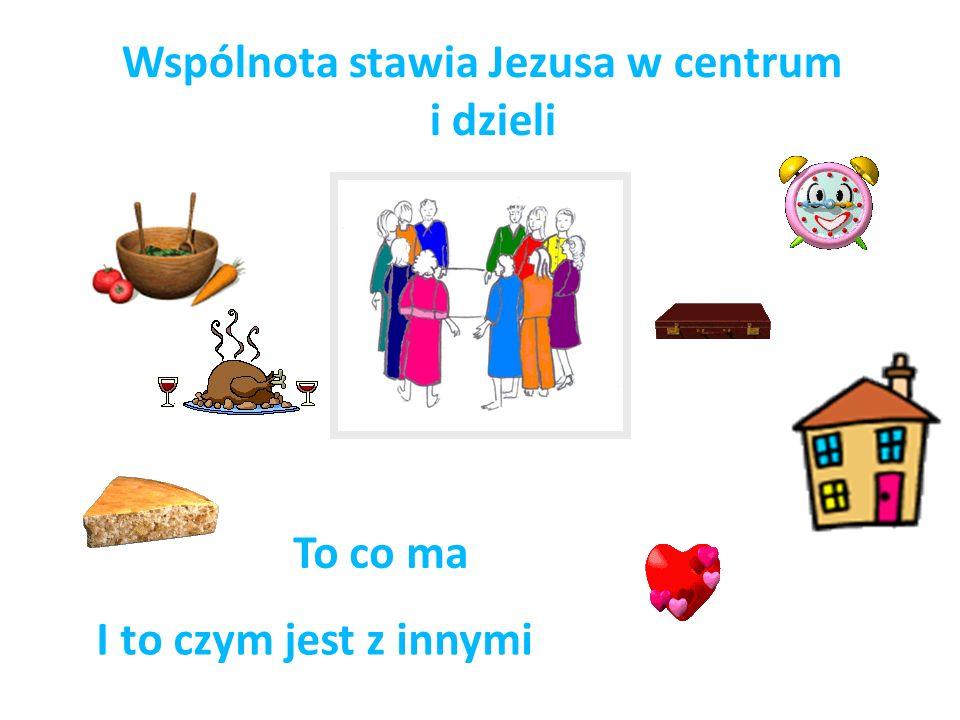 Wspólnota stawia Jezusa w centrum