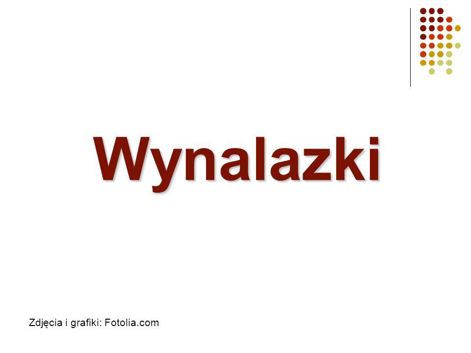 Wynalazki Zdjęcia i grafiki: Fotolia.com