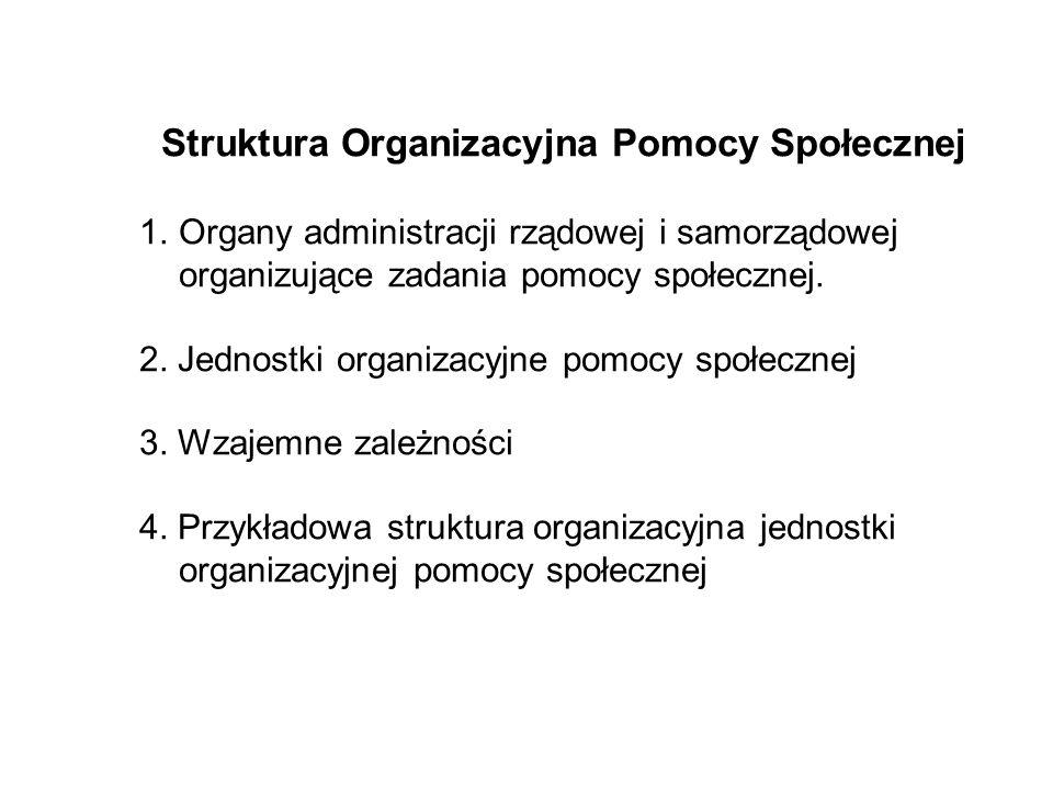 Struktura Organizacyjna Pomocy Społecznej