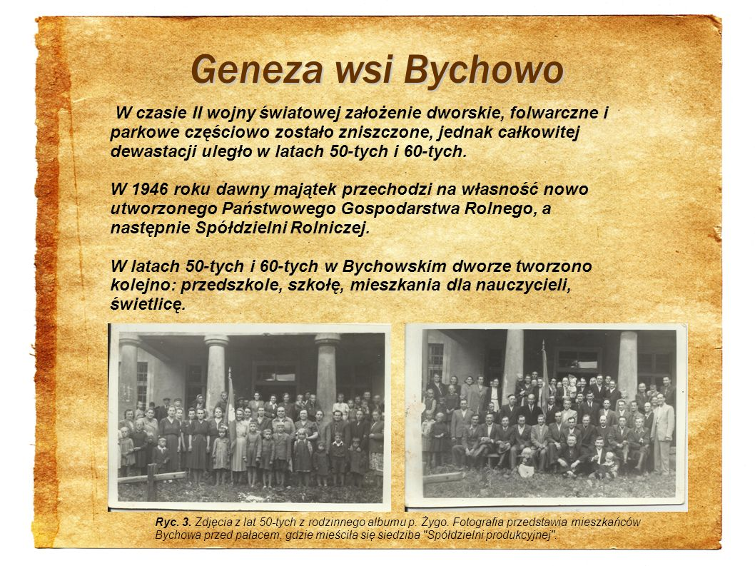 Geneza wsi Bychowo