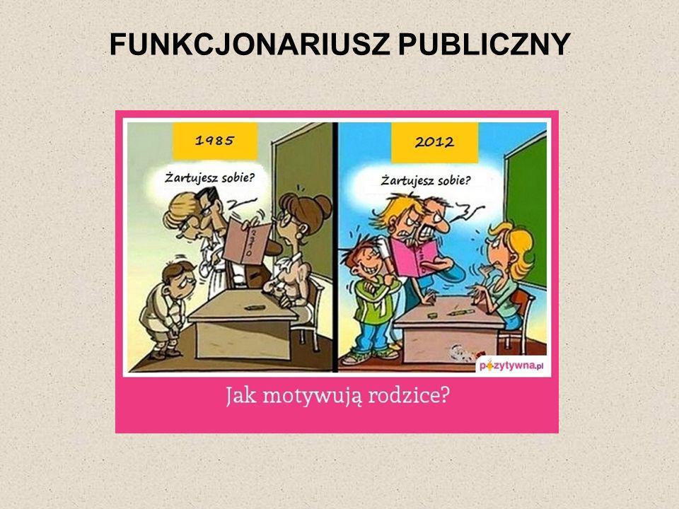 FUNKCJONARIUSZ PUBLICZNY