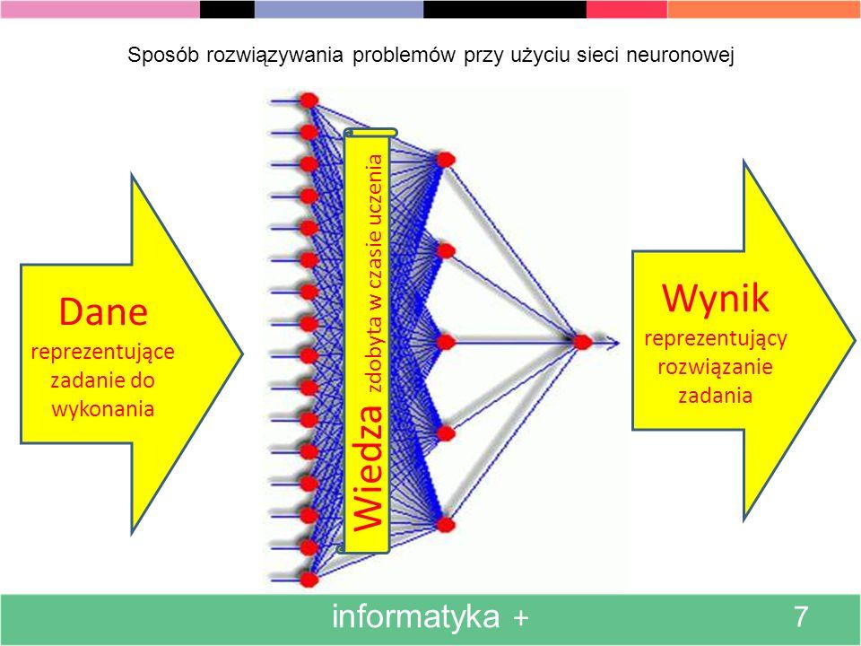 Sposób rozwiązywania problemów przy użyciu sieci neuronowej