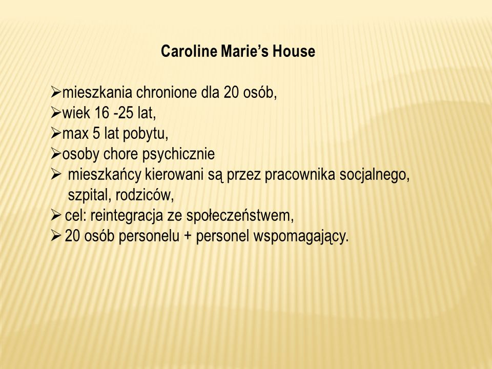 Caroline Marie's House