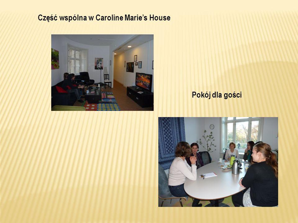 Część wspólna w Caroline Marie's House