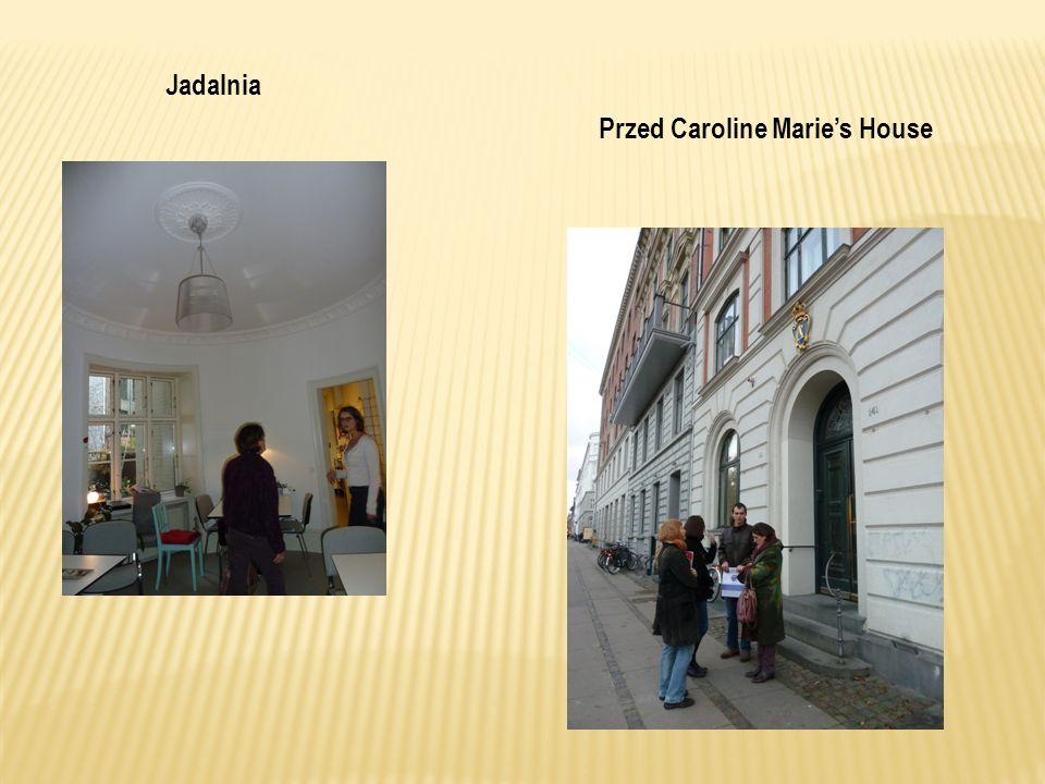 Jadalnia Przed Caroline Marie's House