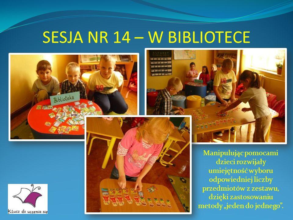SESJA NR 14 – W BIBLIOTECE
