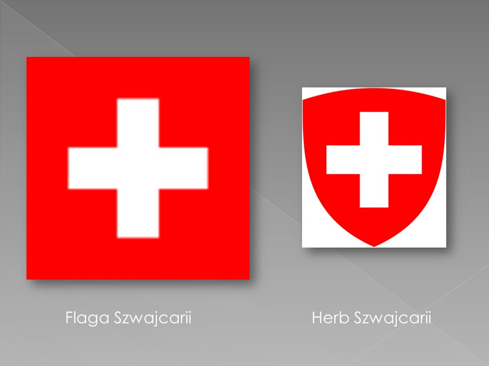 Flaga Szwajcarii Herb Szwajcarii
