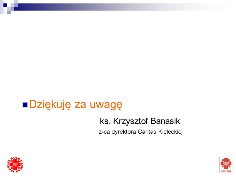 Dziękuję za uwagę ks. Krzysztof Banasik