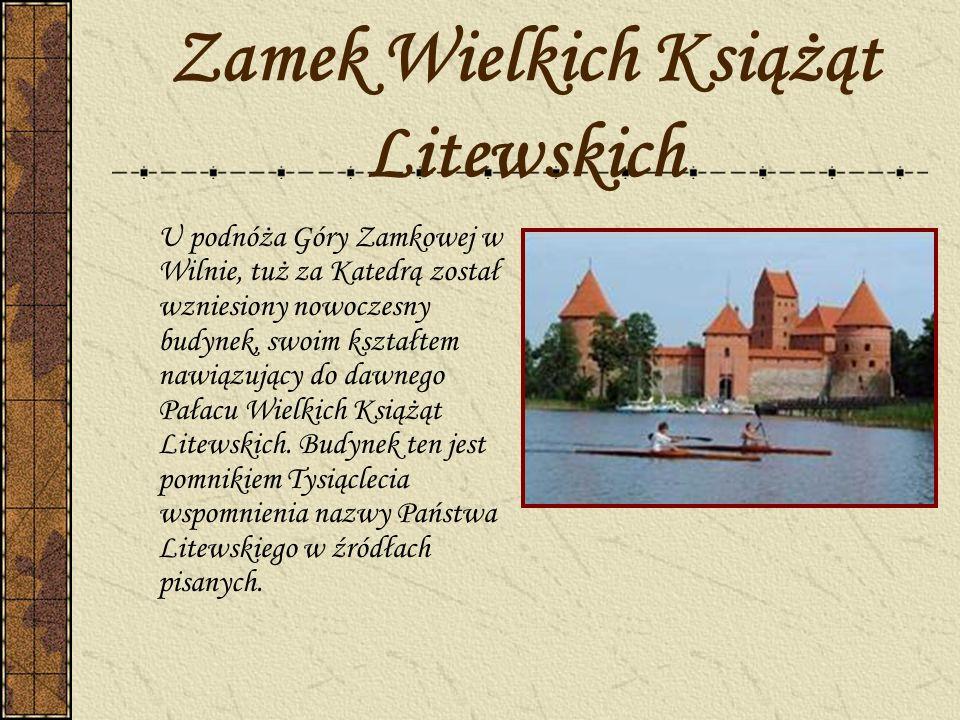 Zamek Wielkich Książąt Litewskich