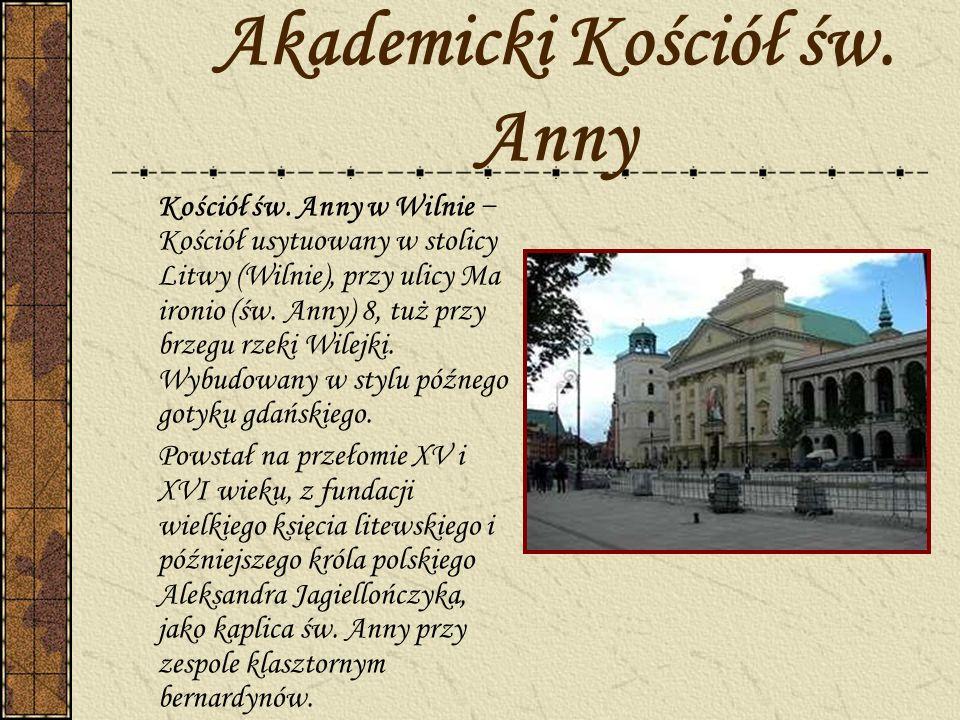Akademicki Kościół św. Anny