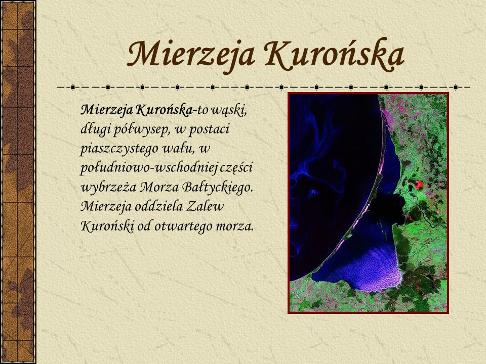 Mierzeja Kurońska