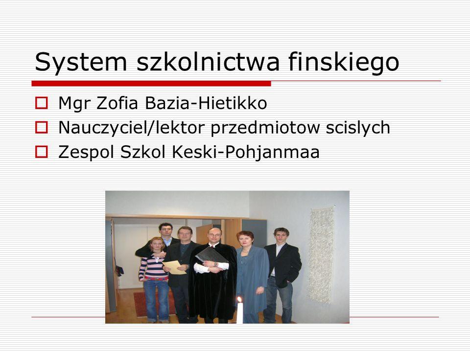System szkolnictwa finskiego