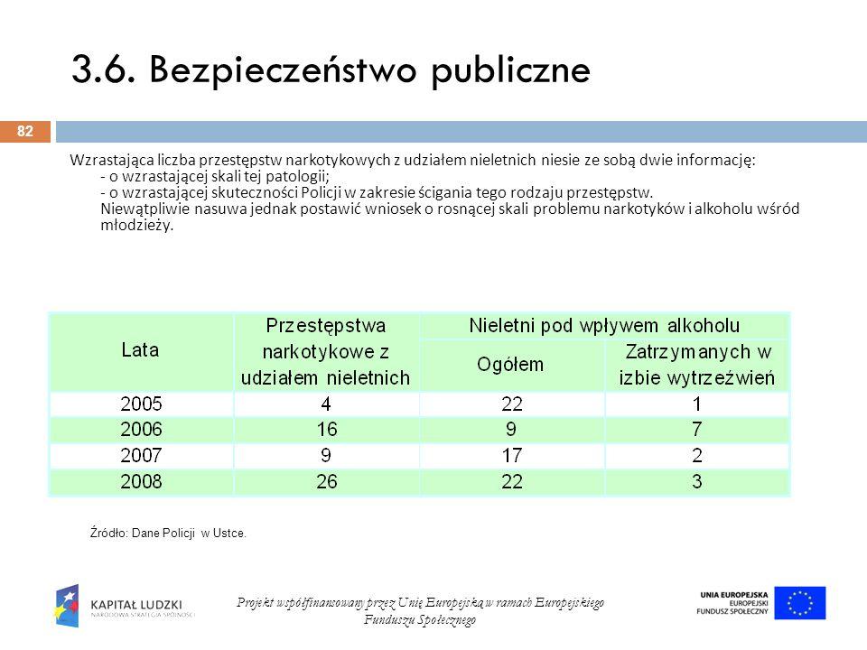 3.6. Bezpieczeństwo publiczne