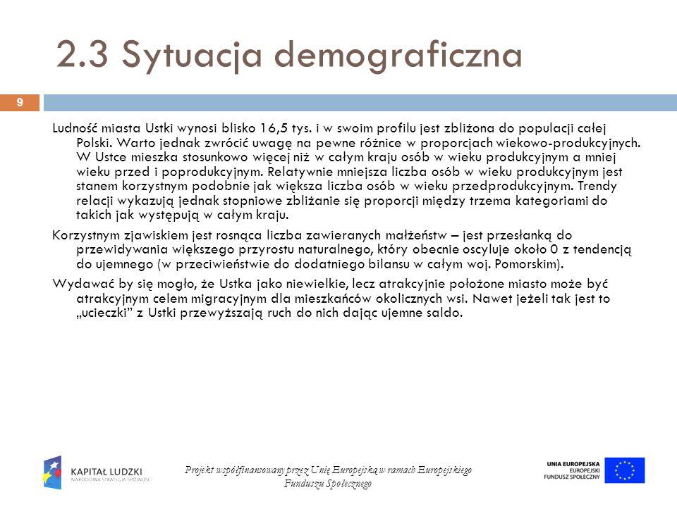 2.3 Sytuacja demograficzna