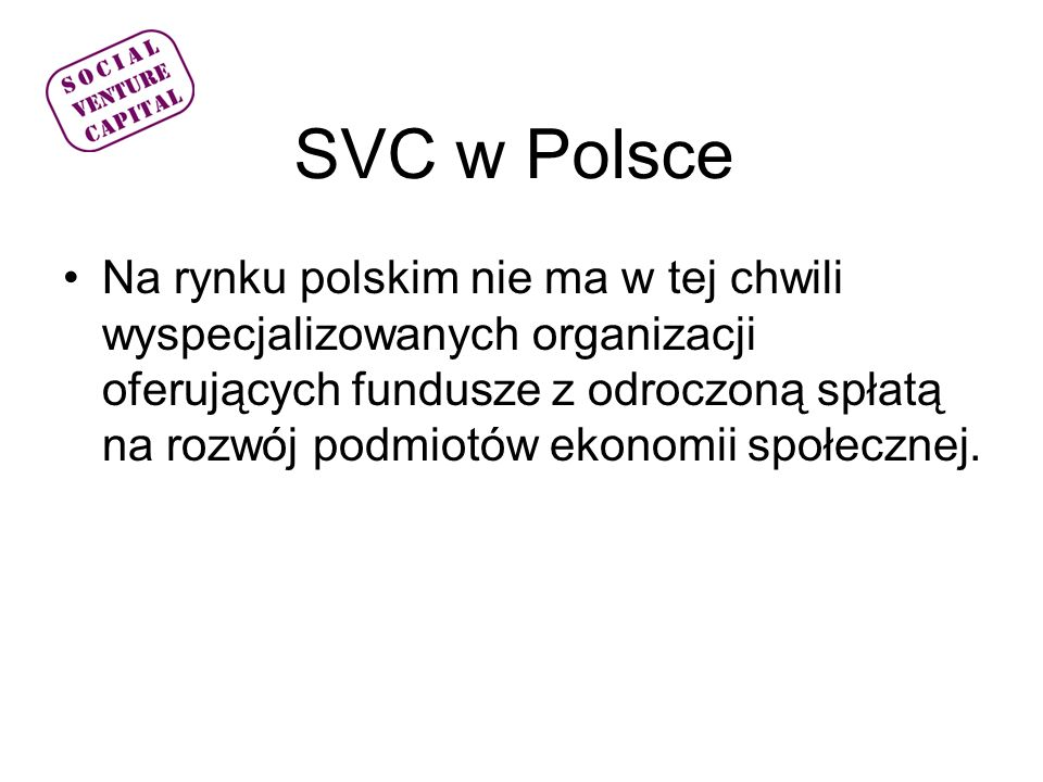 SVC w Polsce