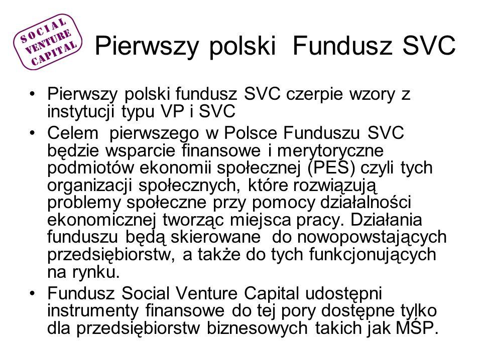 Pierwszy polski Fundusz SVC