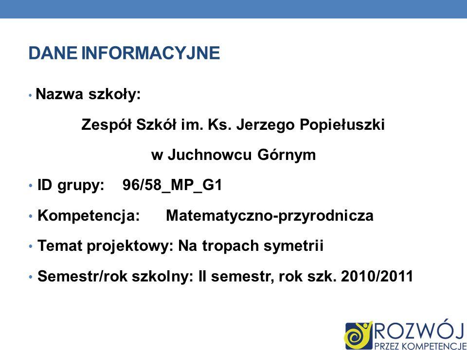 Zespół Szkół im. Ks. Jerzego Popiełuszki