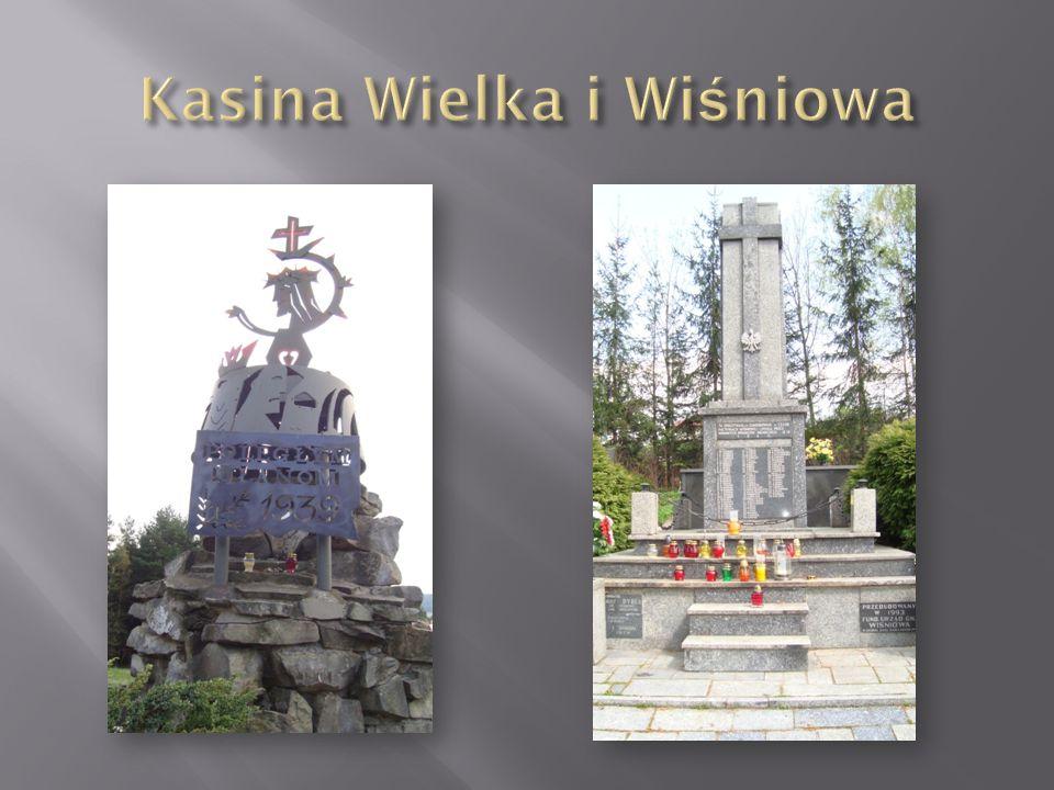 Kasina Wielka i Wiśniowa