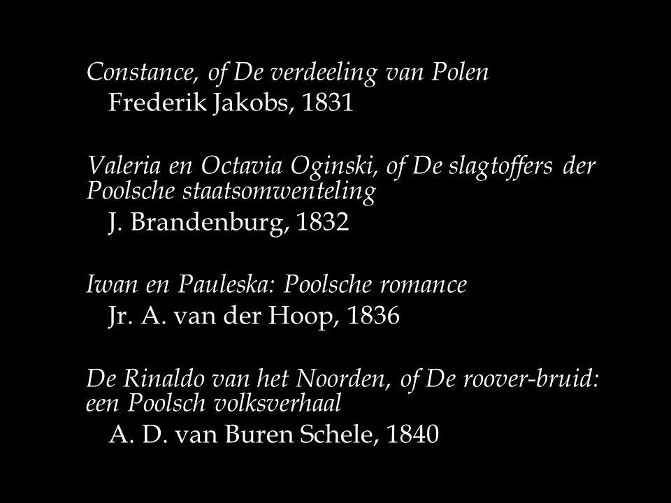 Iwan en Pauleska: Poolsche romance Jr. A. van der Hoop, 1836